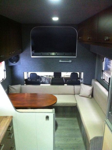 Caravan bekleding